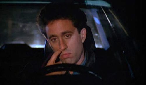 Seinfeld nose pick