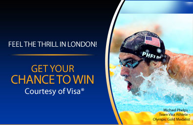 Chase Sapphire 2012 Olympic Games Sweepstakes