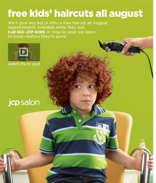 Free Kids' Haircuts