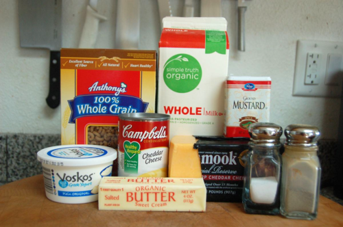 Paula Deen Crockpot Creamy Macaroni and Cheese healthier version ingredients